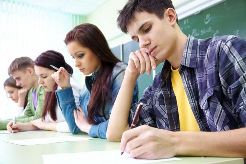 Подростки в школе
