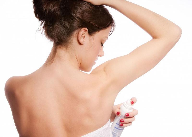 Применение дезодоранта