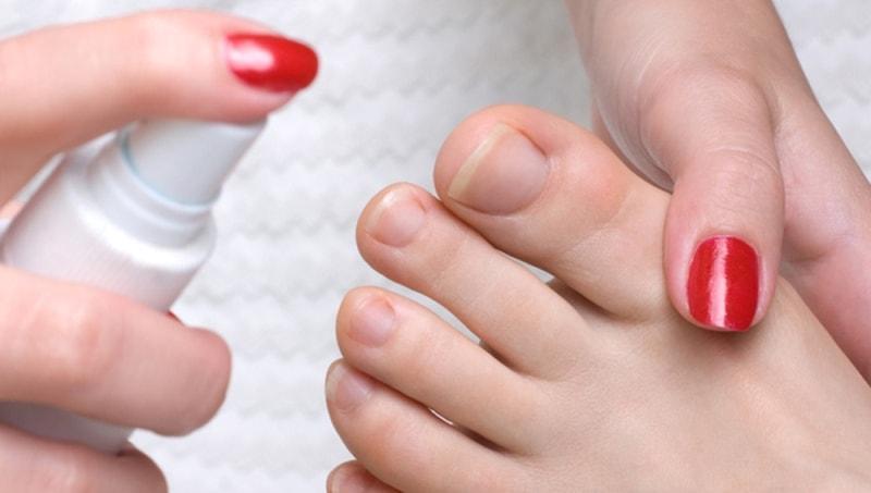 Спрей от потливости ног
