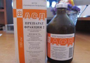 Применение фракции асд при аденоме простаты