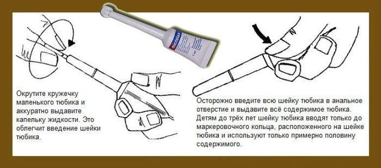 Применение Микролакса