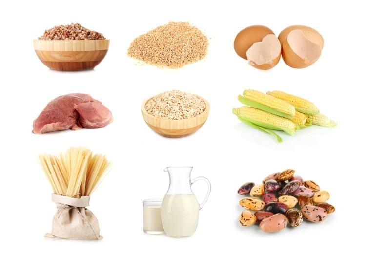 Продукты с содержанием витамина B1