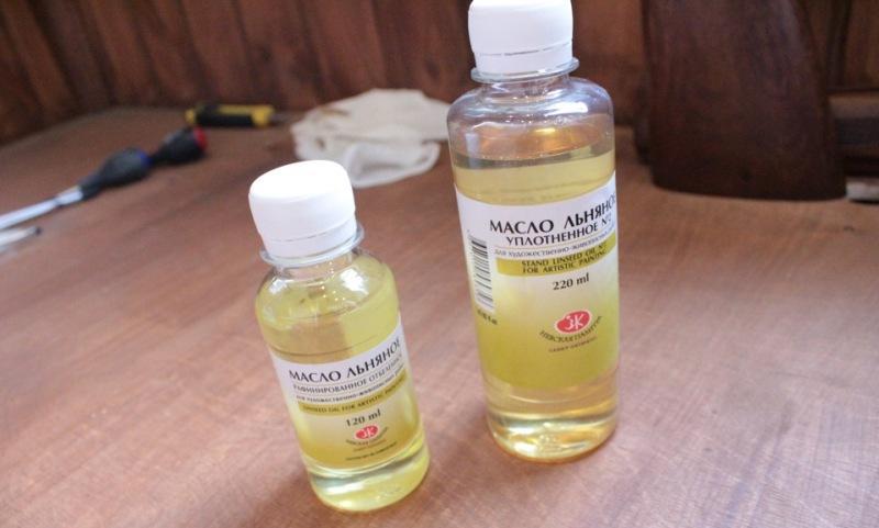 Рафинированное отбелённое дезодорированное льняное масло