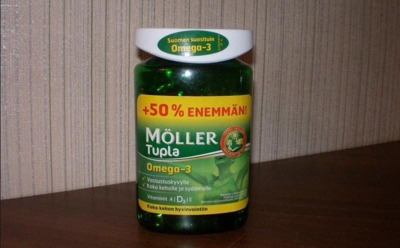 Рыбий жир от компании Moller