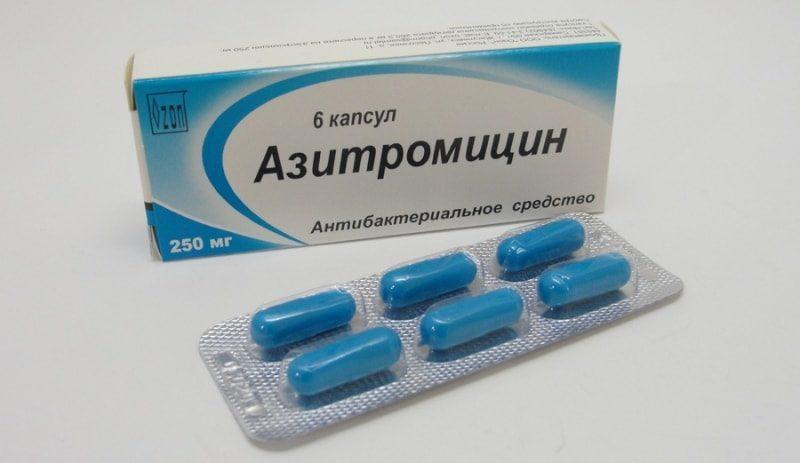 При орви какой антибиотик принимать