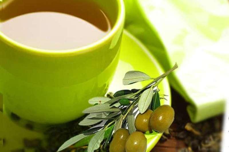 Чай из листьев оливы
