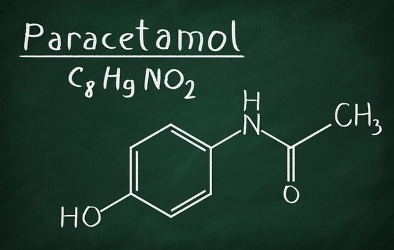 Формула парацетамола
