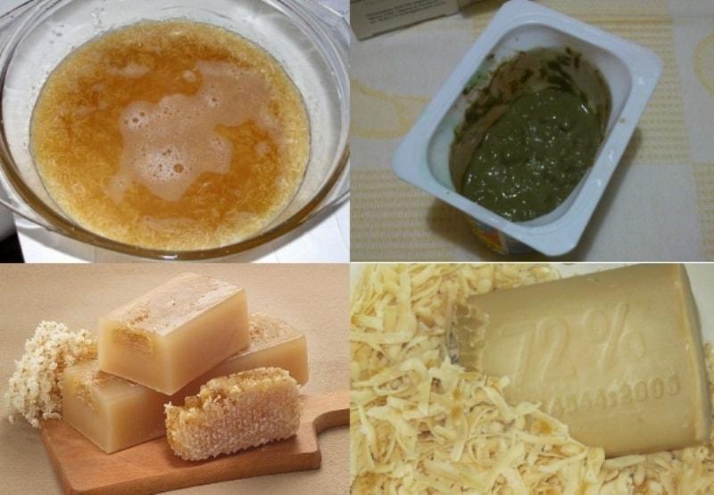Хозяйственное мыло и керосин