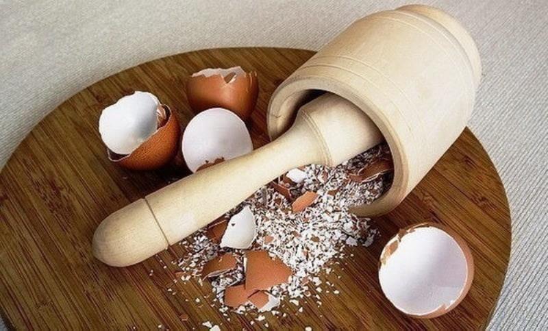 Измельченная яичная скорлупа