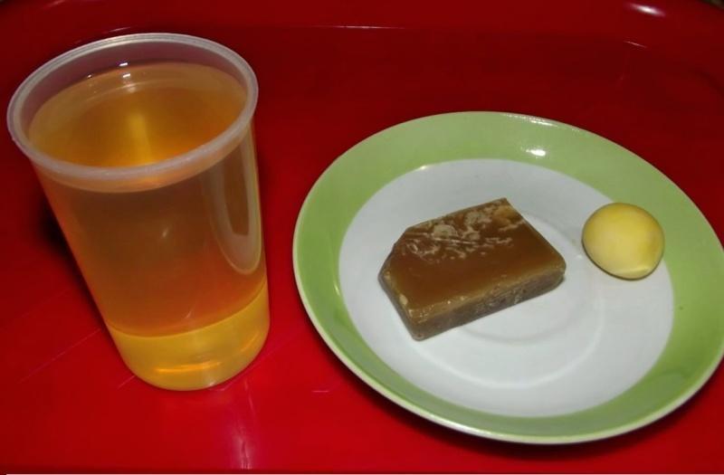 Масло, воск и желток