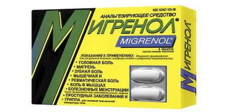 Препарат Мигренол