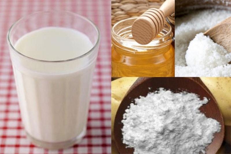 Молоко, мед и соль