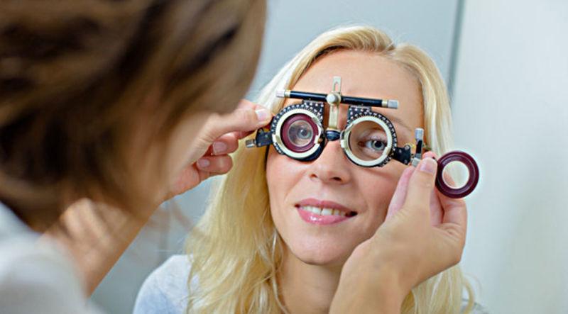 проверка уровня зрения