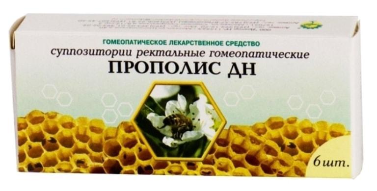Суппозитории Прополис ДН