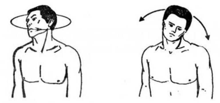 Разминка для шеи