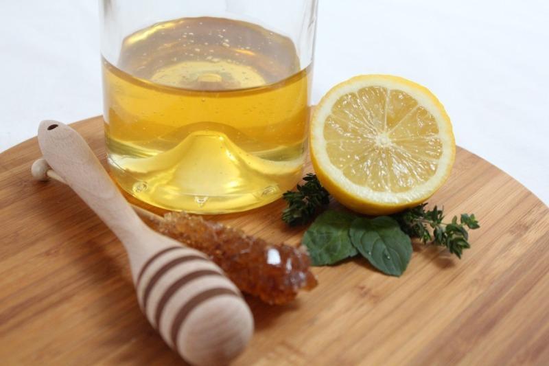 Сок лимона и мед