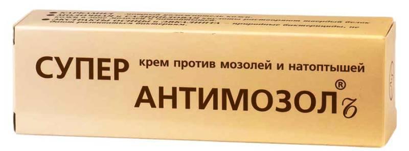 Крем Супер антимозолин