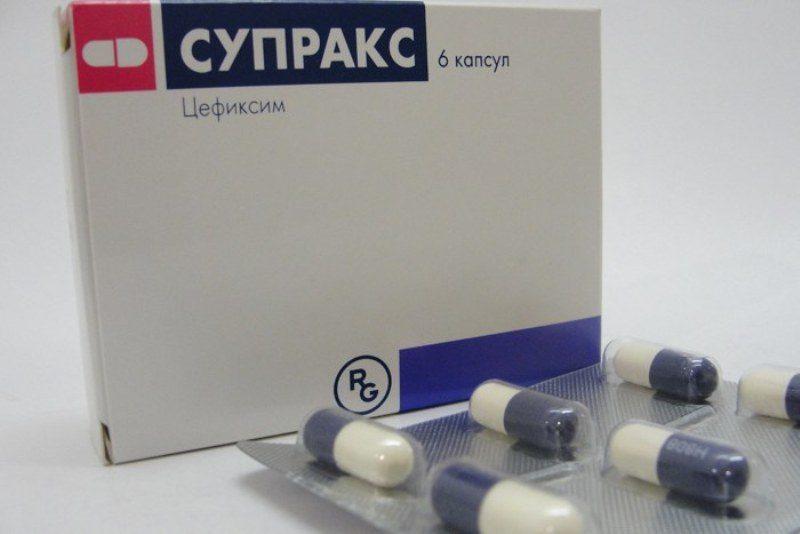 Препарат Супракс