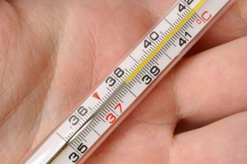 Температура 38 градусов