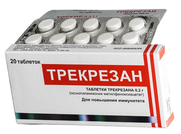 Таблетки Трекрезан