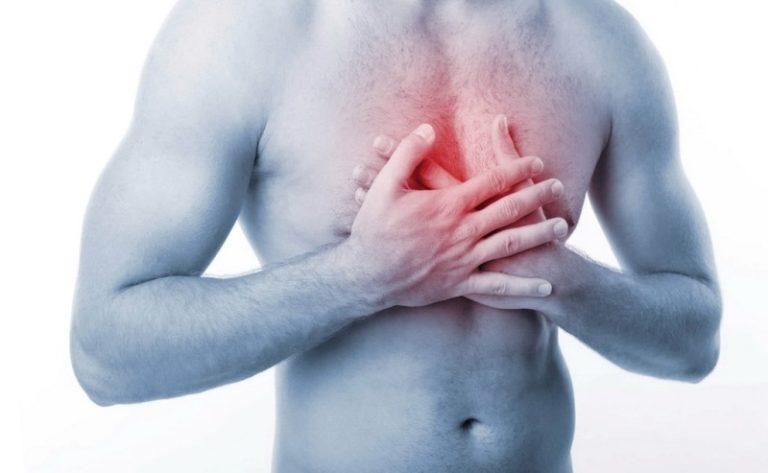 Ощущение тяжести в грудной клетке