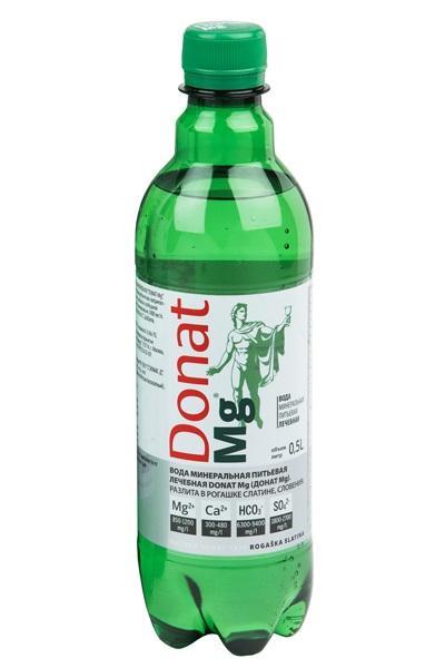 Вода Донат магния 0,5 литра