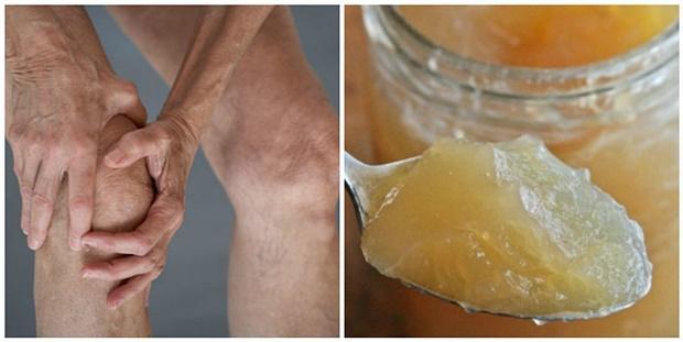 Как лечить суставы желатином рецепт?