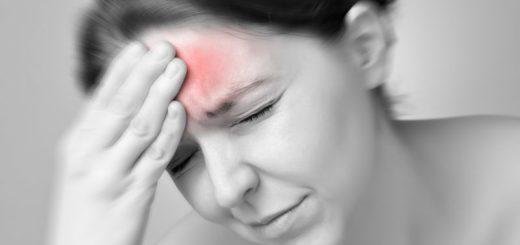 Головная боль в области лба