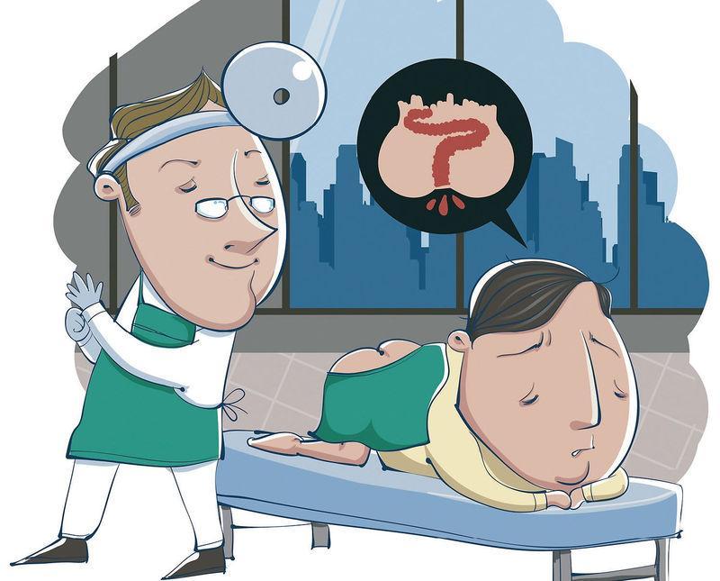 Кровь из заднего прохода у женщин лечение