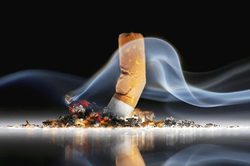 Дымящая сигарета