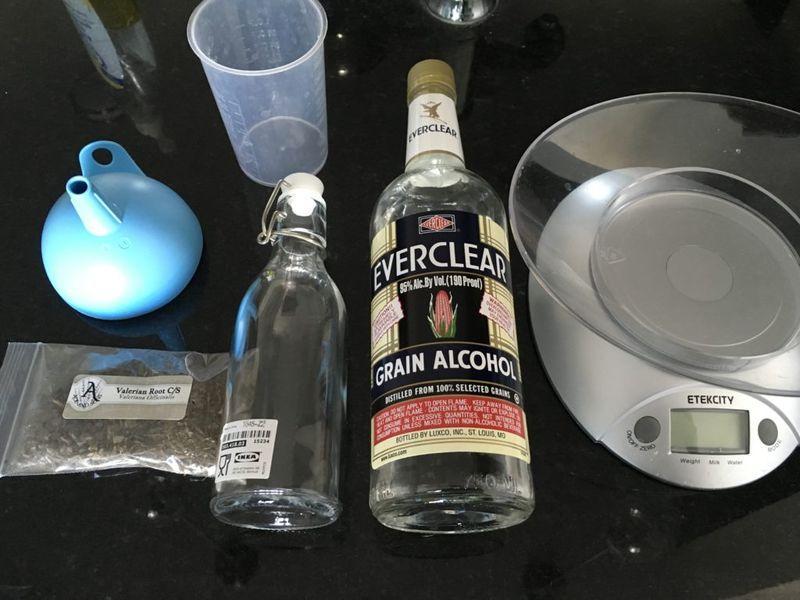Алкоголь для настоя