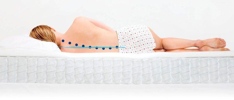 позвоночник во время сна