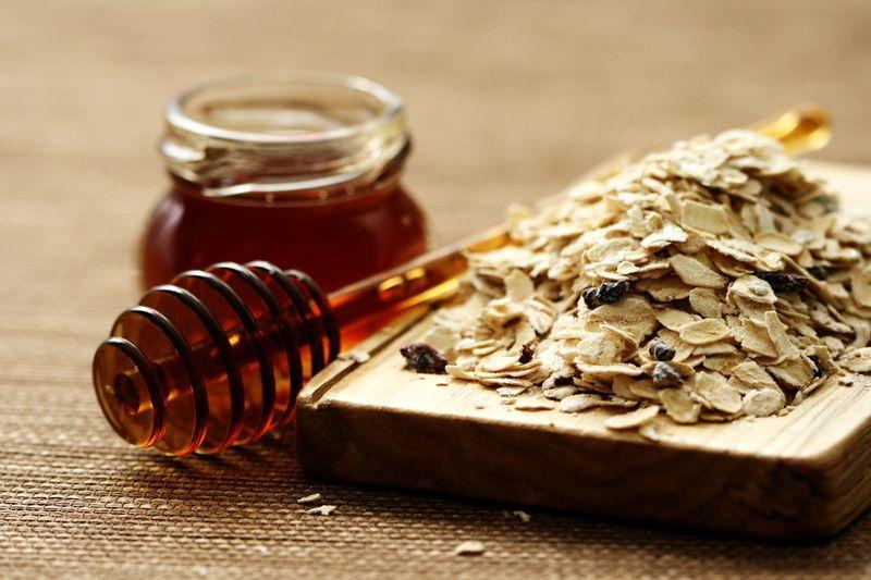 Овсянка и мед