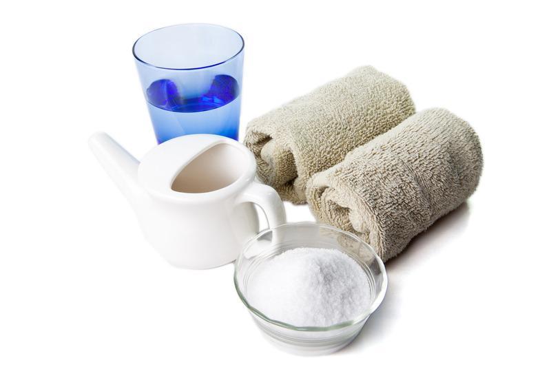ингредиенты для солевого раствора