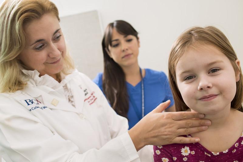 Щитовидка у детей
