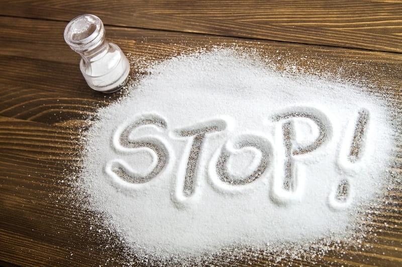 ограничение в употреблении соли