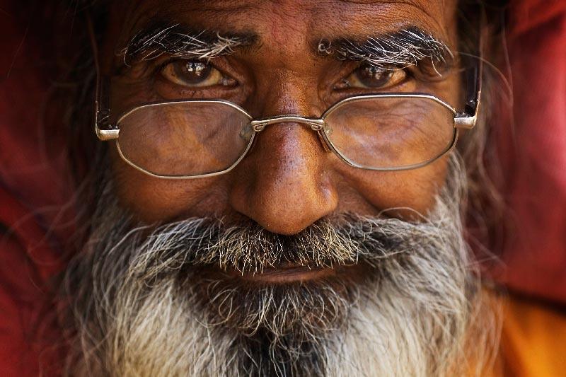 Старый мудрый человек