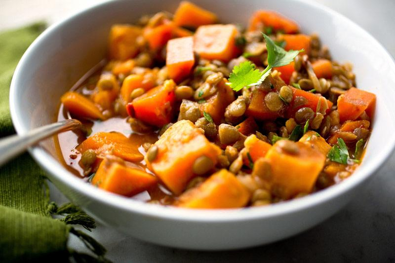 Тушёные овощи