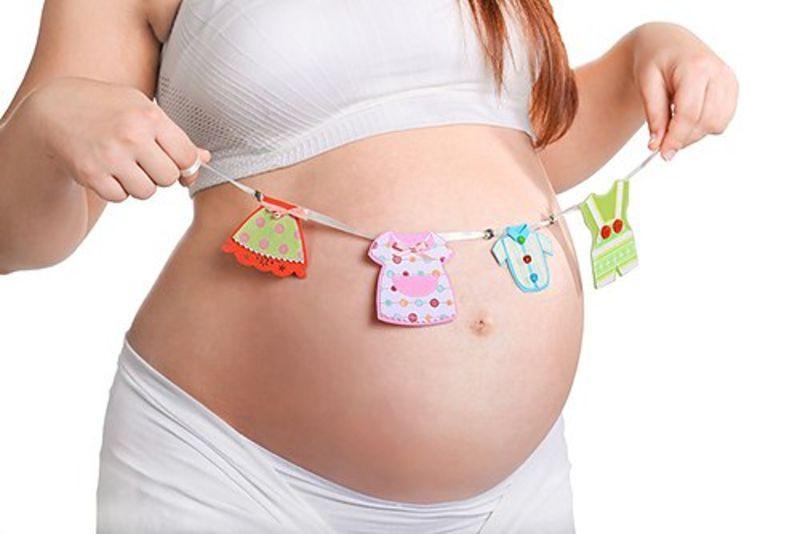 вторая половина беременности