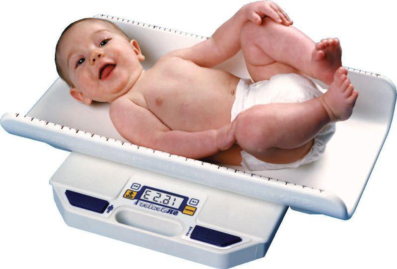 Набор веса у грудничков. Таблица прибавки веса ребенка до года
